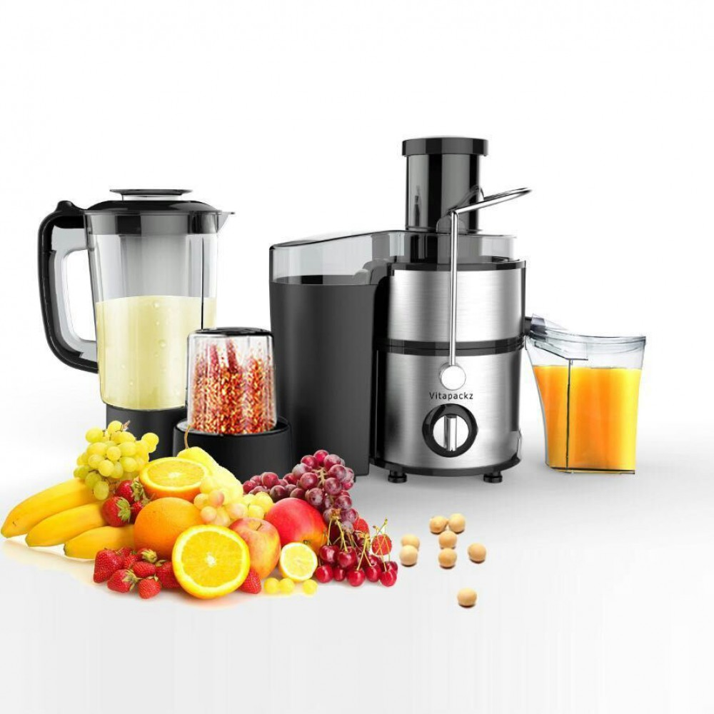 Vitapackz Multi Functional 3 in 1: Juicer, Blender